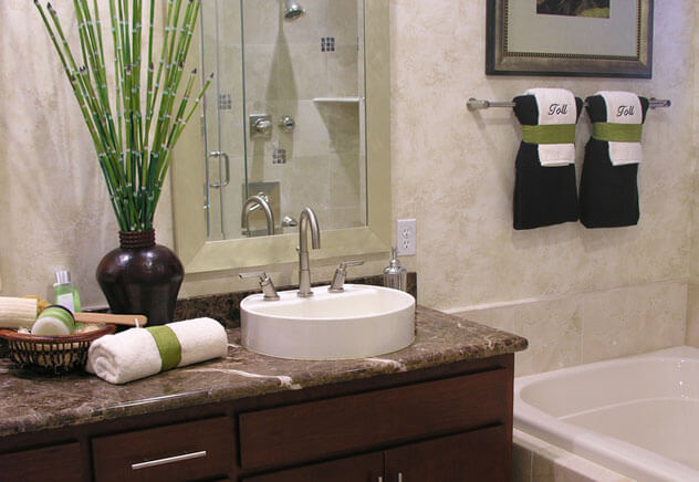 Que tal decorar o banheiro?  Dicas da Donna  Dicas da Donna -> Banheiro Pequeno Sofisticado