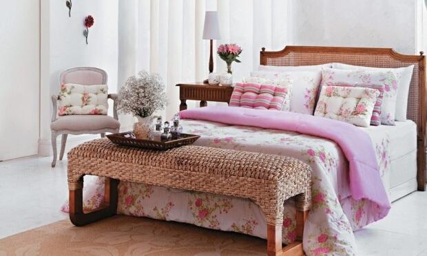 Inspiração para decorar Quarto de casal Dicas Donna  ~ Quarto Casal Decorado Rustico
