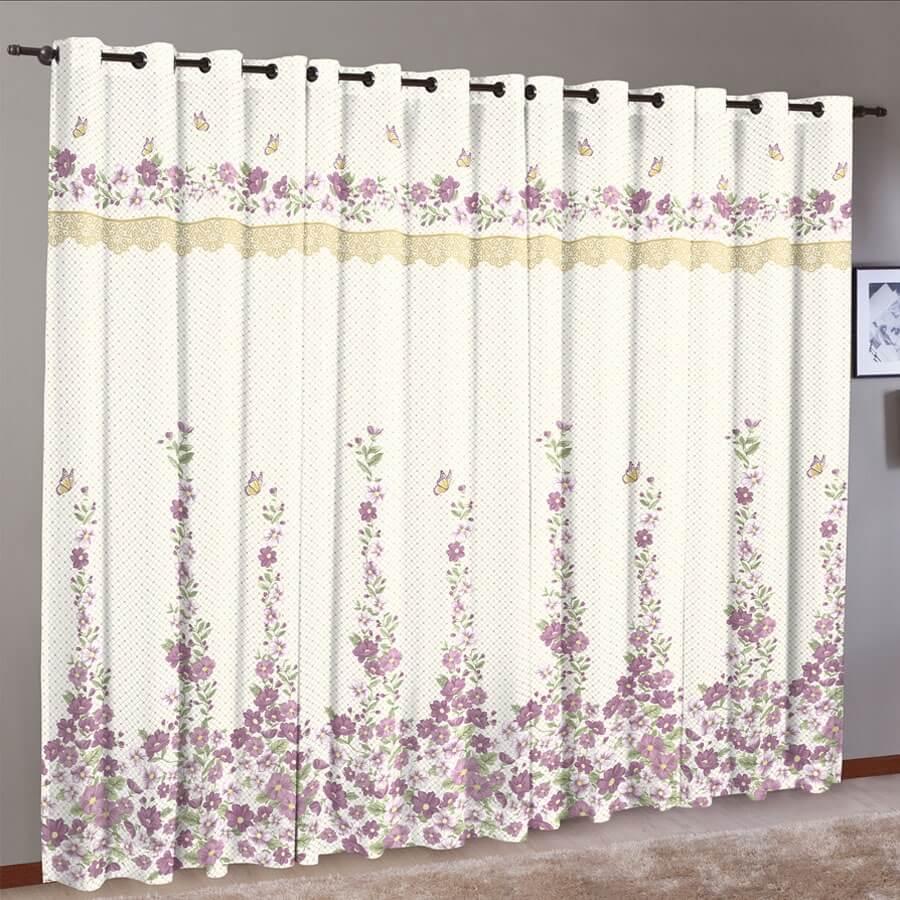 Sugest o de cortinas para sua casa de praia dicas da for Cortinas estampadas modernas