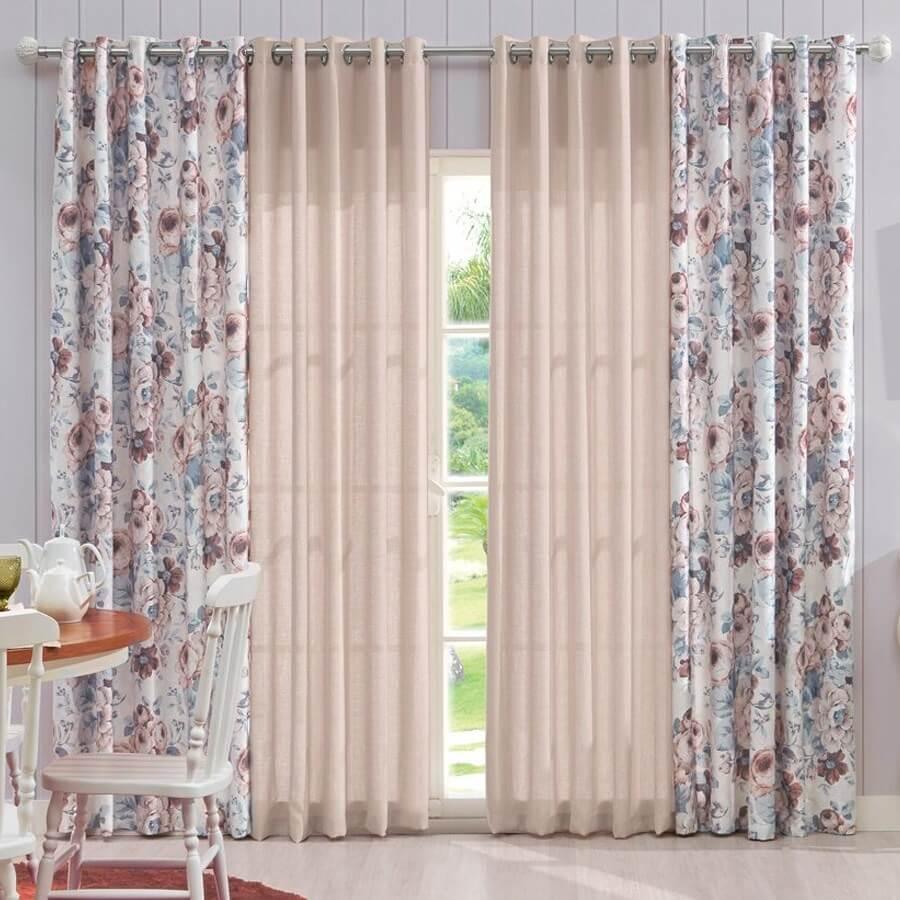 Sugest o de cortinas para sua casa de praia dicas da - Cortinas para casa rustica ...