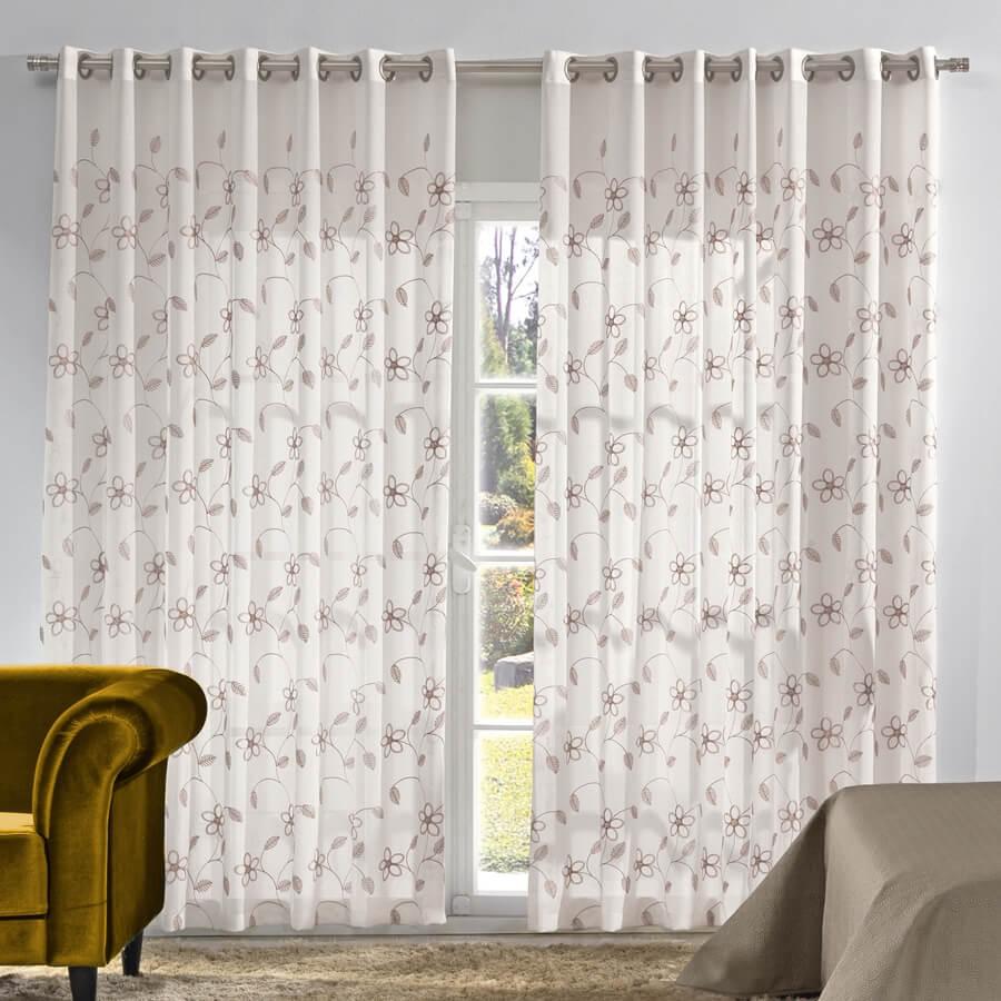Sugest o de cortinas para sua casa de praia dicas da - Cortinas rusticas para casa rurales ...