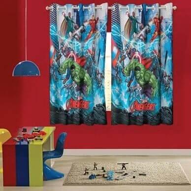 cortina INFANTIL Lepper Avengers
