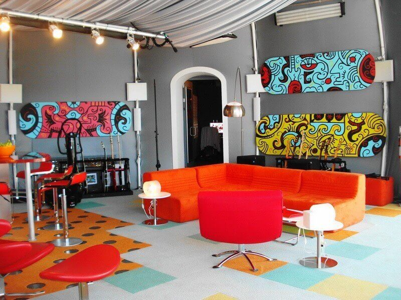 decoracao estilo pop art